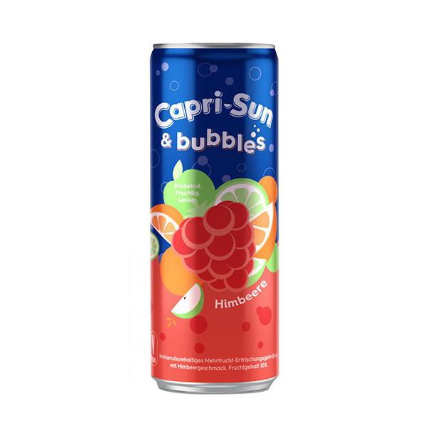 Напій газований CAPRI-SUN Bubbles Raspberry малина 0,33 л 12шт/ящ