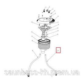 Випускний шланг Emaux 01151380 для застави протитоку EM0055
