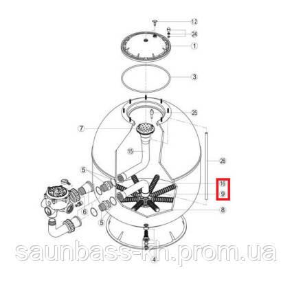 Колектор з коліном Hayward S360SLE (RRFI0016.04R\RFD0310.72R)