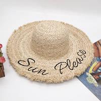 Женская соломенная шляпа. Модель А-7, фото 4