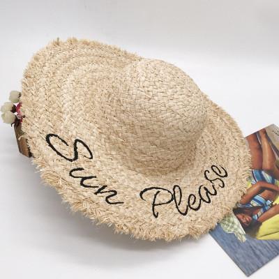 Женская соломенная шляпа. Модель А-7