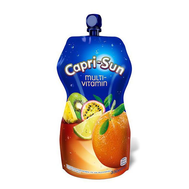 Сік CAPRI-SUN Multivitamin мультивітамін 0,33л 15шт/ящ