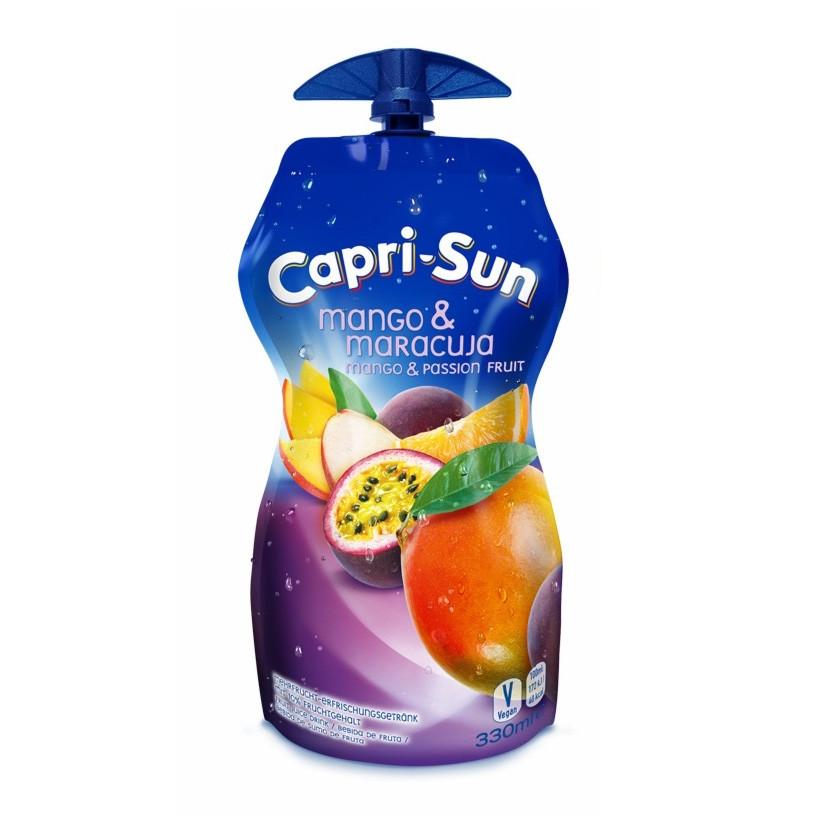 Сік CAPRI-SUN Mango-Maracuja манго-маракуя 0,33 л 15 шт/ящ.