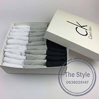 Набор мужских укороченных носков Calvin Klein30штук в фирменной коробке!