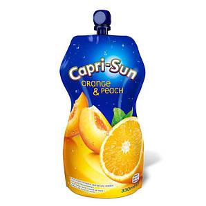 Сік CAPRI-SUN Orange-Peach апельсин-персик 0,33л 15шт/ящ