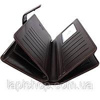 Мужской кошелек Waellerry Business S1063 Коричневый, фото 2