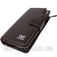 Мужской кошелек Waellerry Business S1063 Коричневый, фото 3