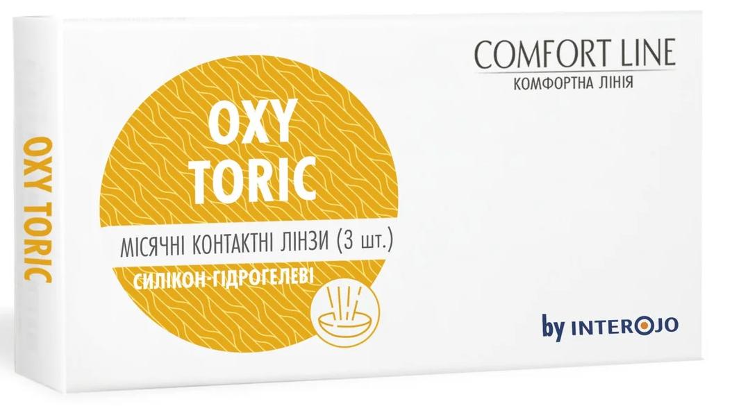 Контактные линзы OXY TORIC (3 шт ), Interojo