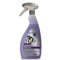 Cif Professional 2in1 Cleaner and Disinfectant для миття та дезінфекції поверхонь, 750 мл
