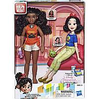 Принцессы Диснея Моана и Белоснежка, Moana and Snow White, Disney Princess, Ralph Breaks The Internet, Hasbro