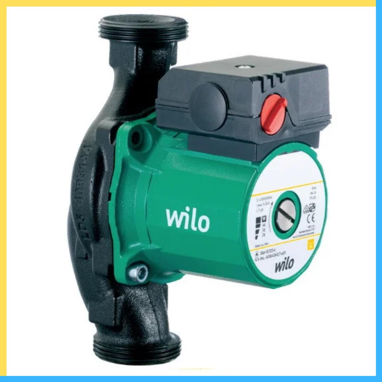 Циркуляционные насосы Wilo RS 25/4 180 стандартная база