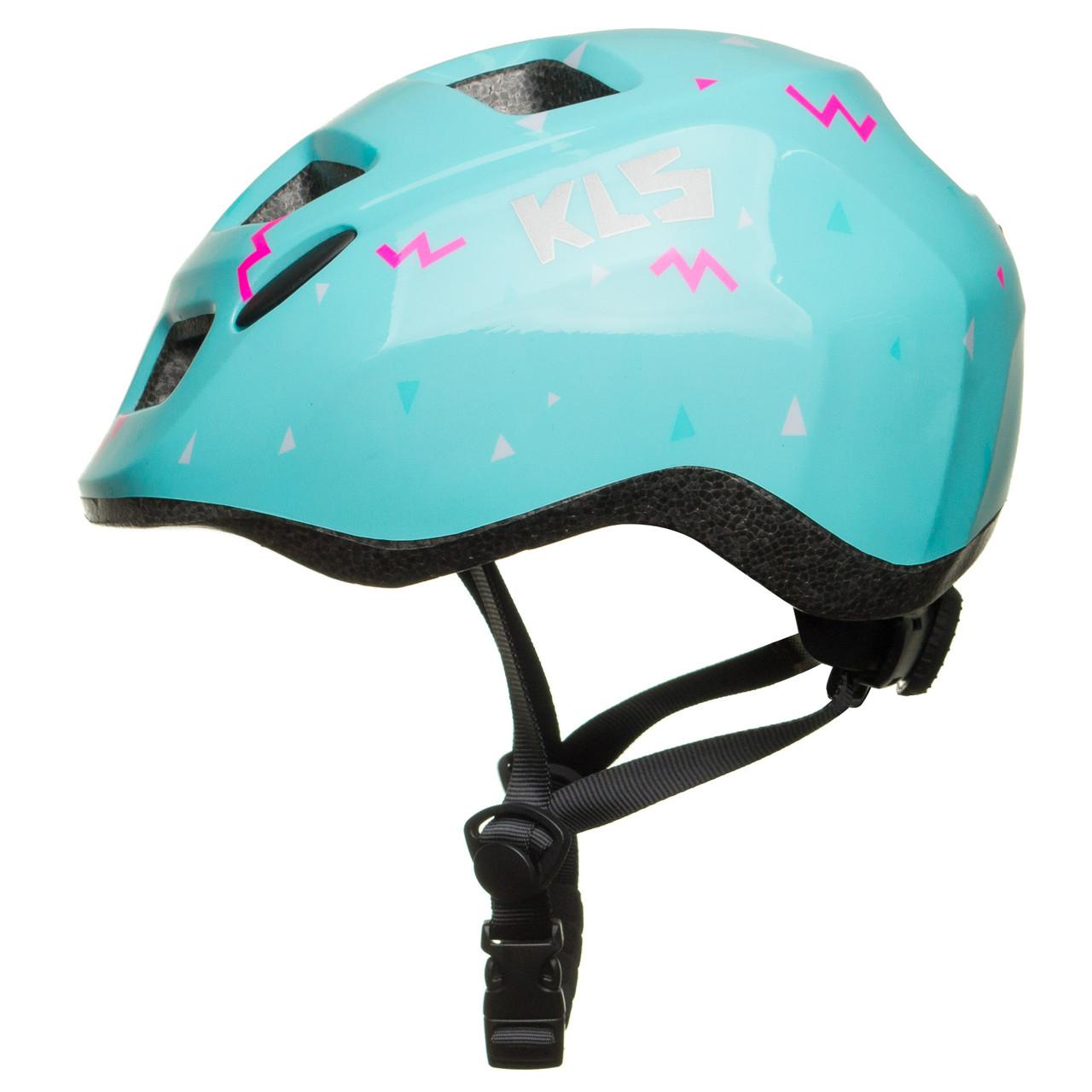 Велосипедный детский шлем KLS ZIGZAG S 50-55 Mint