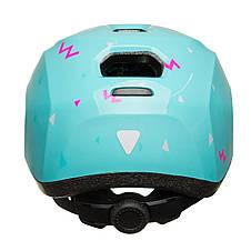 Велосипедный детский шлем KLS ZIGZAG S 50-55 Mint, фото 3
