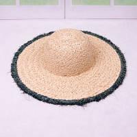 Женская соломенная шляпа. Большой выбор цветов! Модель А-8, фото 3