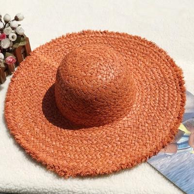 Женская соломенная шляпа. Большой выбор цветов! Модель А-8
