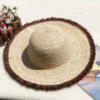 Женская соломенная шляпа. Большой выбор цветов! Модель А-8, фото 7