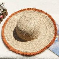 Женская соломенная шляпа. Большой выбор цветов! Модель А-8, фото 8