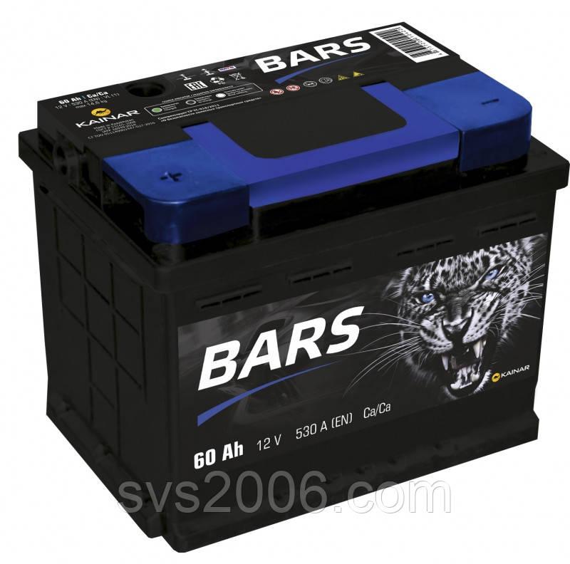 АКБ 6СТ-60 L+ (пт 520) Lite BARS