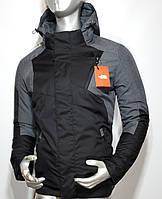 Мужская осенняя куртка North Face водоотталкивающая ткань копия