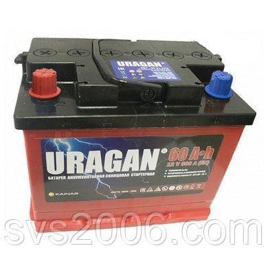 АКБ 6СТ-60 L+ (пт 500) URAGAN