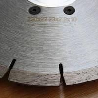 Диск алмазный отрезной HESS Pro сегментный 230мм*22,23мм с фланцем