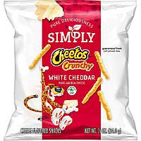 Чипсы Cheetos Simply Crunchy White Cheddar 24.8