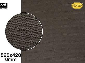 DUPLA (7279), цв.темно-коричневый (18), т.6мм резина набоечная Vibram