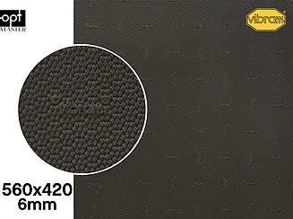 DUPLA (7279), цв.табак (АN), т.6мм резина набоечная Vibram