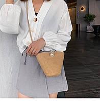 Жіноча літня сумочка. Модель 3015, фото 4