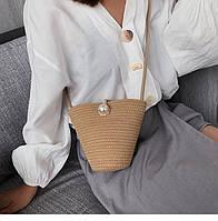 Жіноча літня сумочка. Модель 3015, фото 2