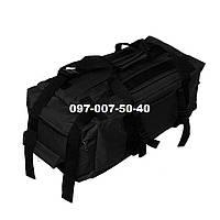 Сумка- рюкзак тактический Oxford 800г/м² на 40л. (Черная), фото 1