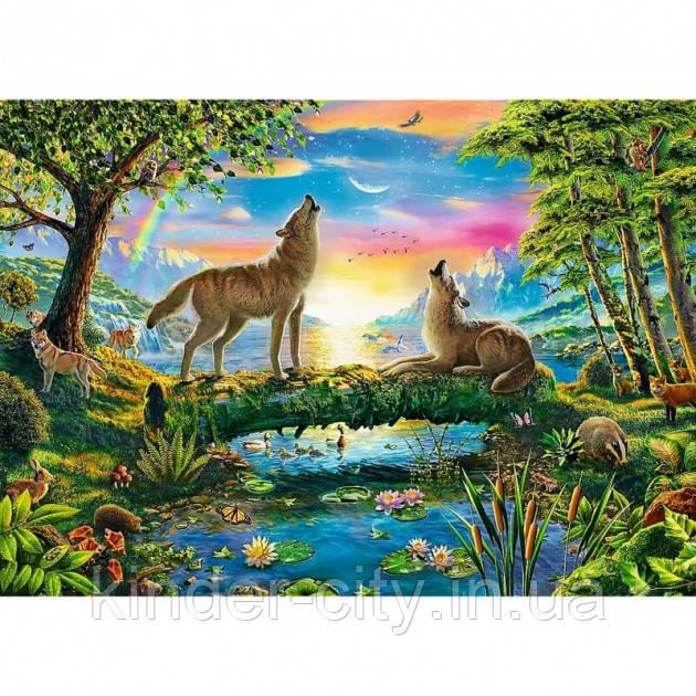 Пазли Trefl 500 елементів Вовки Trefl 37349