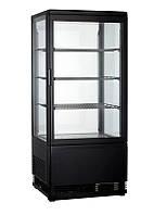Шкаф холодильный настольный Frosty RT78L-1D черный