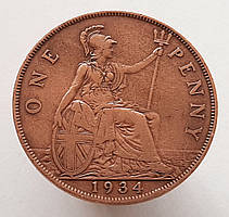 Великобритания 1 пенни 1934