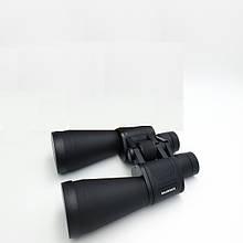 Бинокль 20x прочный корпус влагозащищенный пылестойкий для охоты туризма рыбалки Bushnell 60x90 7087 черный