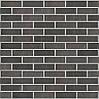 Клинкерная фасадная плитка Night sound (HF65), 240x71x14 мм, фото 5