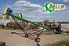 Транспортер зерна (шнековый погрузчик) - Деллиф 8 м, 380 В, фото 2