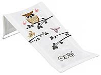 624771 Горка для купания Tega Owl (Plus Baby) PB-SOWA-026 (сетка) 103 white