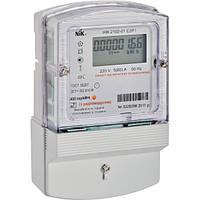 Счетчик электроэнергии НІК2102-01.Е2МТР1  5(60)А однофазный многотарифный