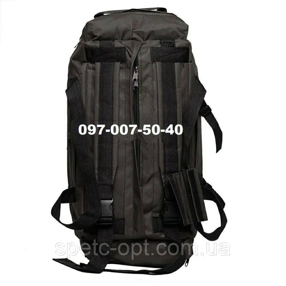 Сумка-рюкзак тактический Oxford 800г/м² на 60л. (ХАКИ).