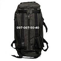 Сумка-рюкзак тактический Oxford 800г/м² на 60л. (ХАКИ)., фото 1