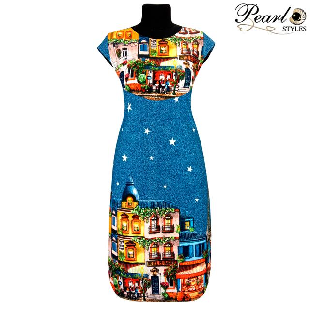 Молодёжное купонное платье