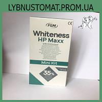 Cистема для фотоотбеливания Whiteness HP MAXX 35%, набор 4г (перекисть водорода) + 2г (активатор), FGM