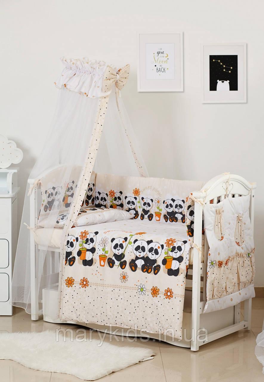 Дитяче ліжко Twins Standart New 4050-CN-037 Мікс 8 елементів