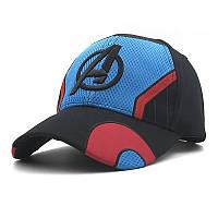 Бейсболка China Марвел Мстители логотип синяя Marvel Avengers 11.05