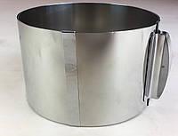 Раздвижная форма для выпечки ( 16 см * 30 см * 10 см ) .