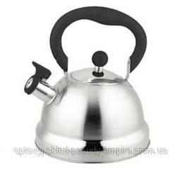 Чайник Con Brio со свистком 2.7 л черный ( CB-411)