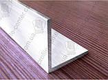 Угол алюминиевый 100х100х3 равнополочный равносторонний, фото 3