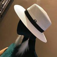 Женская соломенная шляпа. Модель А-10, фото 4