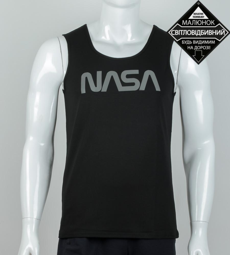Майка мужская NASA (0915мм), Черный